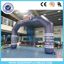 Yantai SINGAR inflatables promotion archway,inflatable chute arch