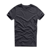 Customized high quality plain cotton t shirts with print LOGO
