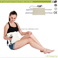 2014 New product MHP-E1215D FIR Neck Shoulder Massage Therapy health battery operated heating mini heating pad for therapy