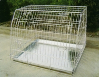 Large Powder coated Chain Link Fence Dog Cages