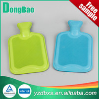 1 litre hot water bottle silicone with red colour hot selling
