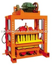 QTJ4-40 Small Scale Used Manual Block Making Machine for sale