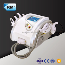 Face Fat Removal Machine with Vacuum+IPL+RF+Cavitation Massage Body Slimming