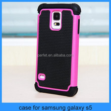 Hybrid Hard Case Cover for Samsung Galaxy S3 III i9300 S5 i9600 Mobile Phone Accessories