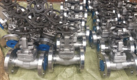 Forged Flanged Ball valves #800 #1500 OS&Y and welded bonnet API