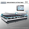 Straight Line Semi-automatic Manual Glass Cutting Machine