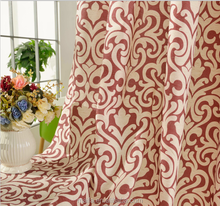 2016 New curtains style Luxury Curtains designs South America window curtains for living room