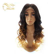 2018 high quality the best selling unprocessed front lace wig