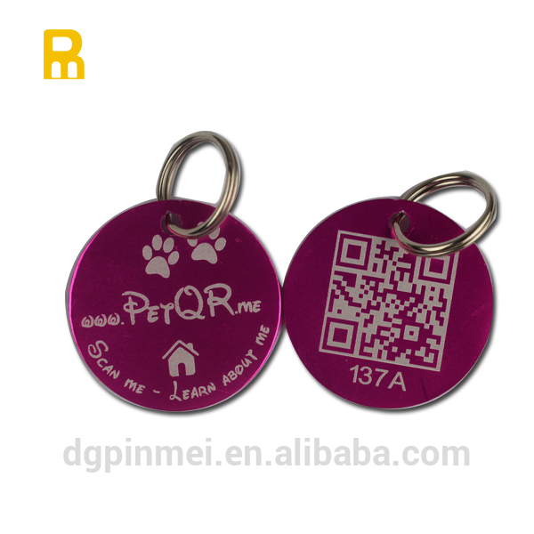 Hot!!! wholesale aluminum dog tags for promotional gifts