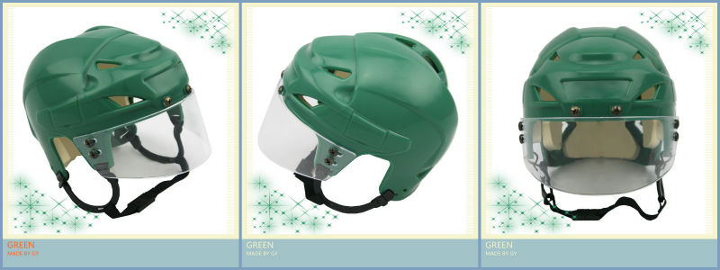 HELMET Superior Quality mini plastic hockey helmet