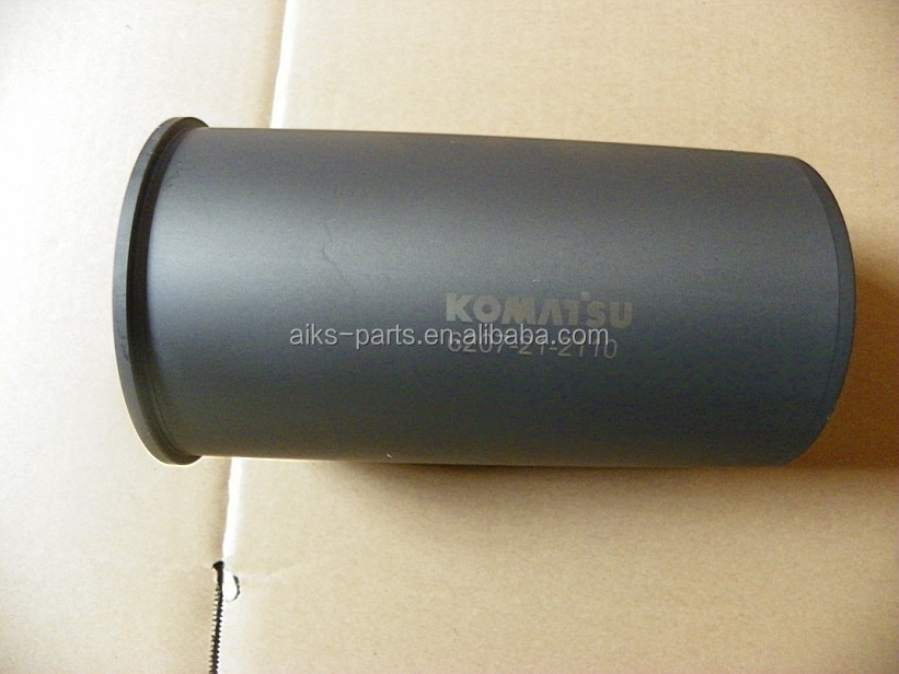 6D95L cylinder sleeve 6207-21-2121 6207-21-2110 6207-21-2210 6D95L engine parts