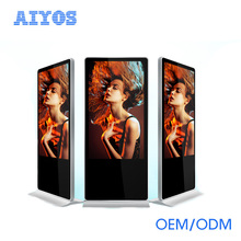 43 inch network advertisement signage media player / floor standing advertising player kiosk