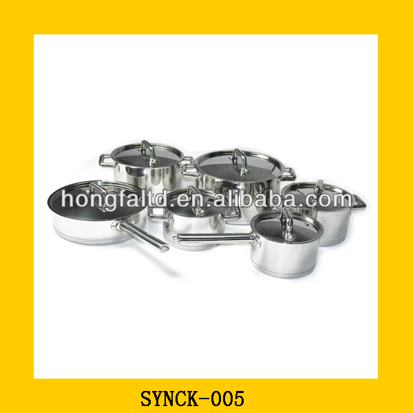 stainless steel kitchenware