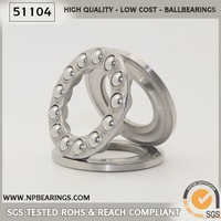 51011 Thrust Ball Bearing 51118, Plastic Thrust Bearing Size Chart, Axial Bearing