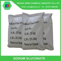Textile industry chemicals products for high grade sodium gluconate