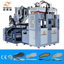 Automatic 1/2 color TPR/PVC sole injection machine
