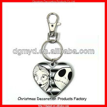 Promotion Halloween key chain with key holder (MYD-2116)