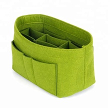 Bag insert travel fashion polyester cosmetic bag