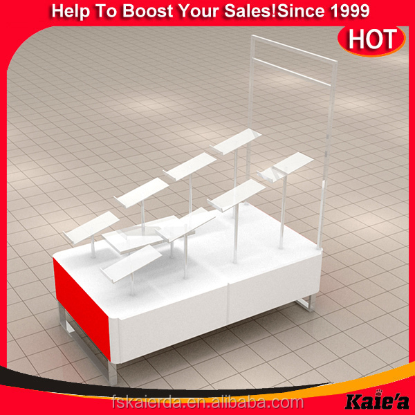 retail floor display stand tablet floor stand