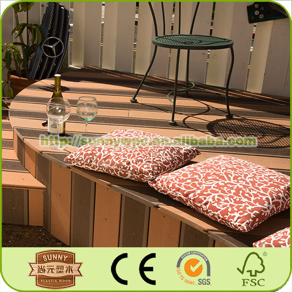 wpc decking cheap garden gazebo plastic wood planks