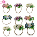 Baby Girls Fashion Hair Bands Flowers / Pearls / Leaves Artifical Flower Garland Headbands