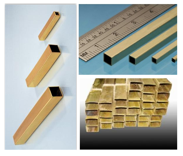Square brass pipe suppliers with tube in competitive price