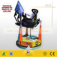 Use 3d car driving simulator/4d driving car driving simulator/360 degree motion platform