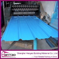 Red Plain Harvey Style Steel Plate Material Metal Roofing Tile