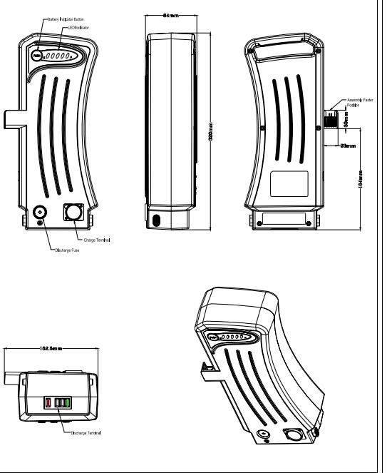 compatible with the 36v samsung sdi ebike batteries fit for prophete damen e