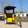 open top sightseeing bus tuc tuc electric rickshaw for taxi for family