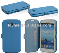 wallet card holder leather case for Samsung galaxy Grand Duos i9082