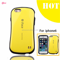 For iPhone 6 Candy Color Korea Style Shock Absorbing iFace mall case 2 in 1 TPU+PC Hard Case Silicone