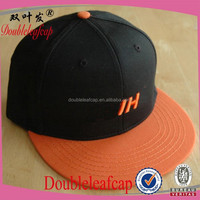 Fashion Men Women Baseball Cap Adjustable flat brim snapback hats Casual Sport Unisex Hat orange brim