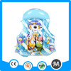 Fast delivery cartoon children inflatable PVC swim vest life jacket