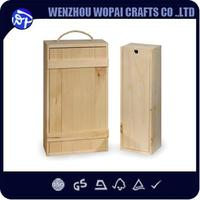 Recycled Materials Feature cheap price wood wine box