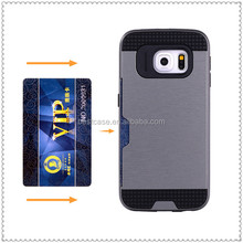 fashion brush armor cellphone case for galaxy s5 case pc tpu back cover
