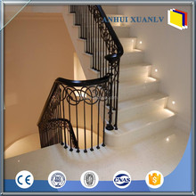 Extruded aluminum railing system for brige