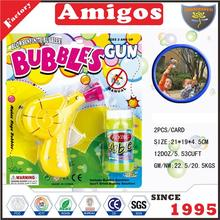 for children Bubble snail yellow/orange wholesale bubble gun toy