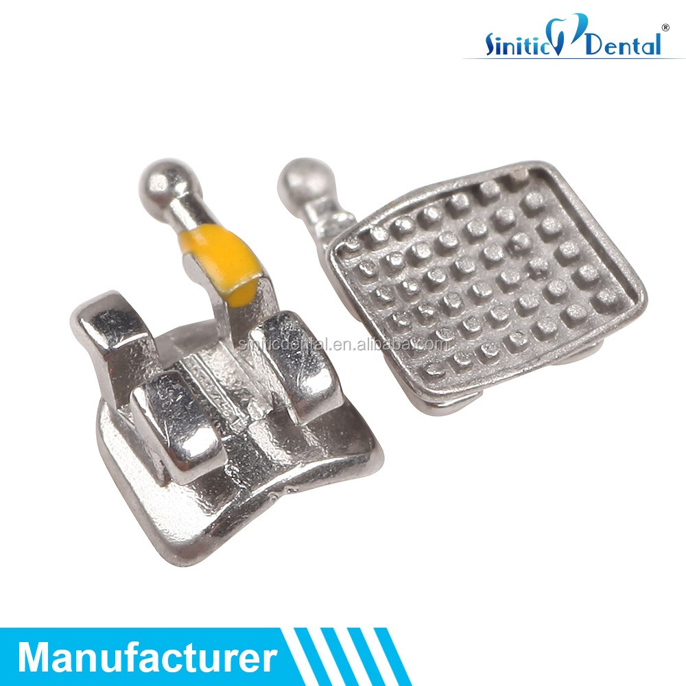 Dental Product Metal Orthodontic Brackets Mini slot.022 With CE,ISO,FDA