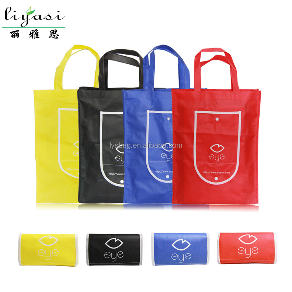 Nonwoven Foldable Shopping Bag,TNT Shopper Bag ,Foldable Nonwoven Recycled Grocery Bag