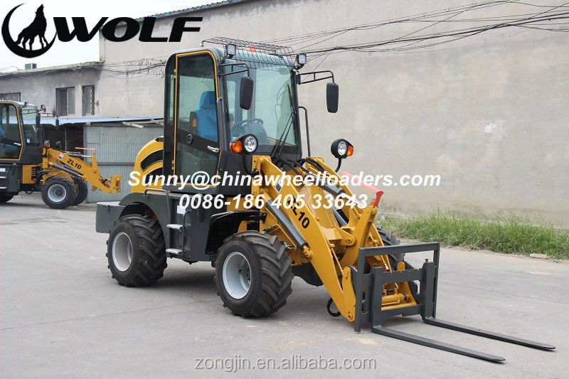 small articulated mini wheel loader ZL10, ZL10A, ZL10F