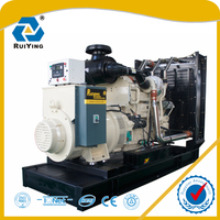 ISO9001 approved open frame 350kw diesel generator set
