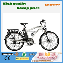 new model city fast electric bike from China with 10Ah Lithium battery