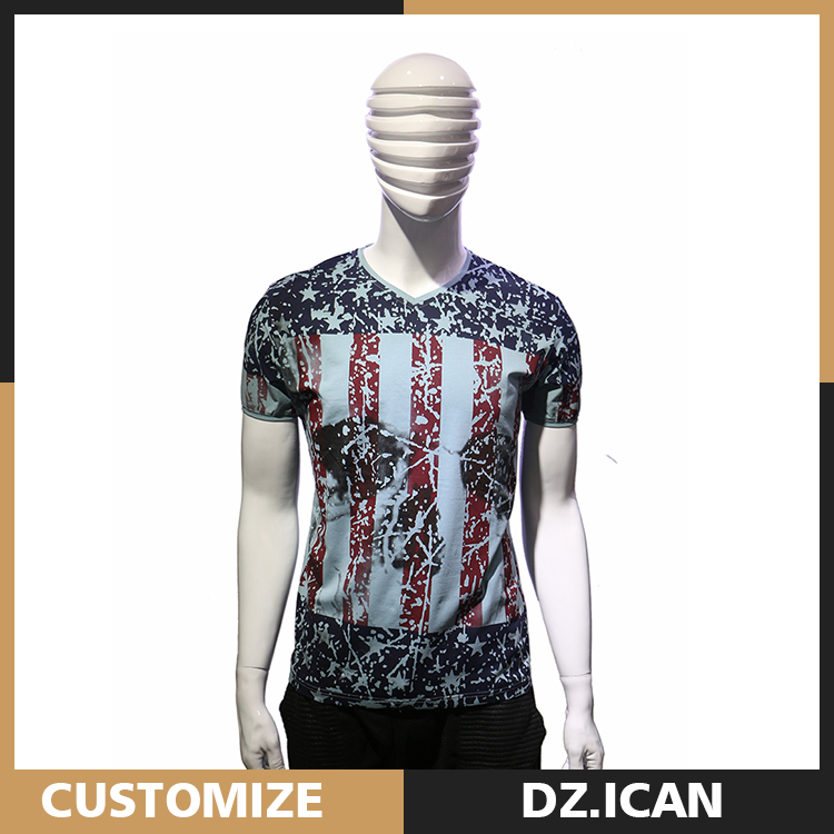 Garments Export New Model Men'S Sublimation Print T-Shirt