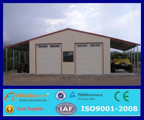 Very good very cheap color steel garage