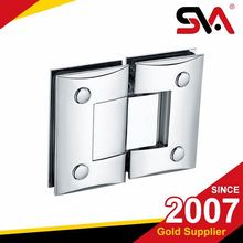Double side curved glass shower door hinges/shower door hinge