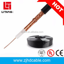 2017 hot sales OEM Top quanlity and factory price CCS/CCA/CU coaxial cable rg59 rg6 rg7 rg11 braided copper wire
