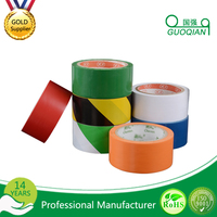 Custom Printed and Size Bopp Adhesive Packing Products Colored Barrier Tape for Warning