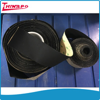 custom thin self adhesive silicone roll sheet 3M adhesive matt rubber sheet