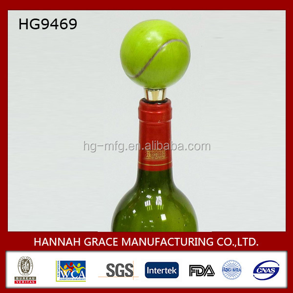Tennis Wine Bottle Topper, Souvenir, Business Gift